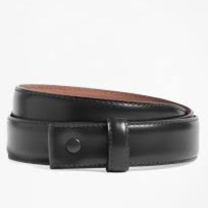 Brooks Brothers Leather Slide Belt Men's 36